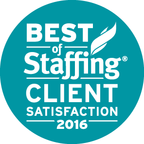 2016 BEST OF STAFFING CLIENT AWARD