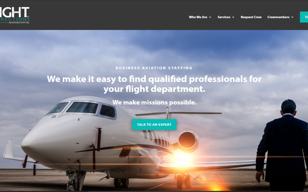 In-Flight Crew Connections Announces the Launch of a New Website
